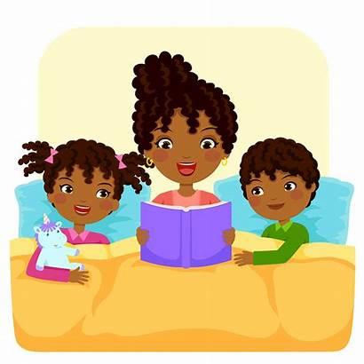 Reading Story Bedtime Dark Children Child Keshet
