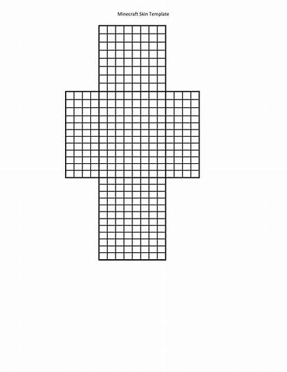 Minecraft Skin Template Blank Printable Colored Creation