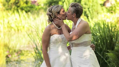 Lesbian Wedding Nadine And Verena Youtube