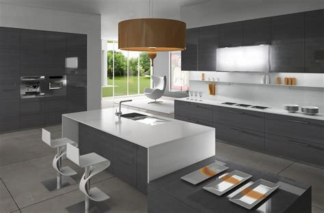 cuisine gris blanc gorgeously minimal kitchens with organization