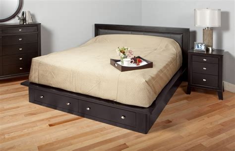 platform bed with drawers platform bed with 2 drawers in pine platform