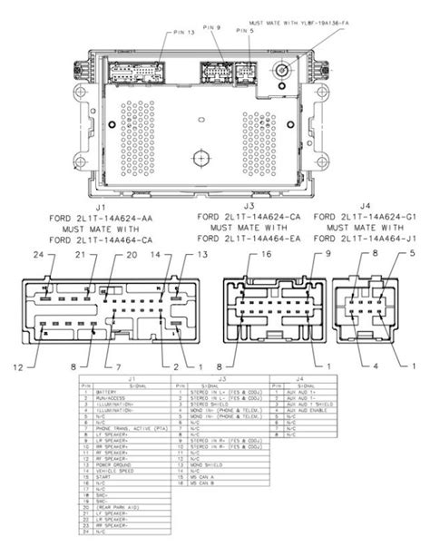 Auto Stereo Wiring Diagram by 2003 Ford Focus Radio Wiring Diagram Fuse Box And Wiring