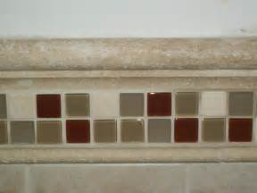 Bathroom Tile Trim Ideas Custom Chair Rail Bathroom Tile Designs And Ideas From Complete Home Remodeling And Repair