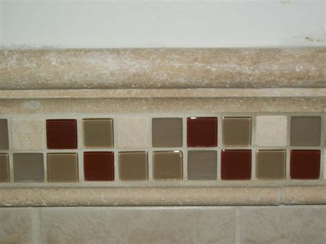 custom chair rail bathroom tile designs and ideas from
