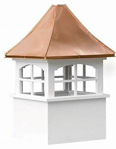 Barn cupolas copper and vinyl barn cupolas for your barn for Cupola windows