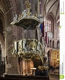 Historic Pulpit In The Archcathedral Basilica Of St. Peter ...