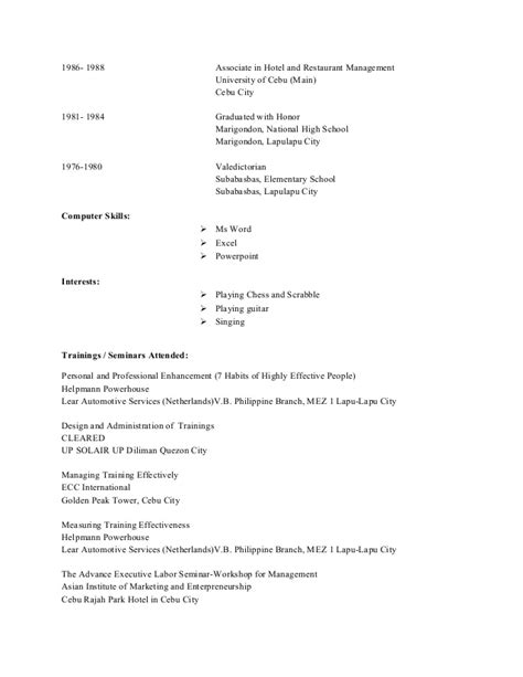 Include High School Valedictorian On Resume by Resume