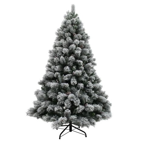 flocked christmas trees buy flocked christmas tree