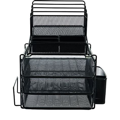 staples desk organizer mesh staples all in one black wire mesh desk organizer office