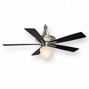 Casablanca Colorado C42g45l 60 U0026quot  Brushed Nickel Ceiling Fan W   Light