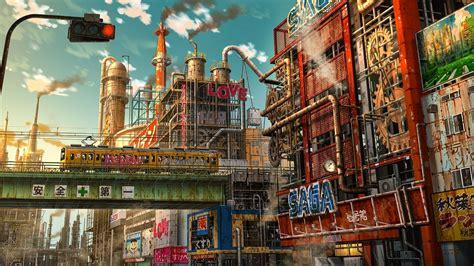 futuristic anime wallpapers top  futuristic anime