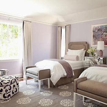 Purple And Brown Bedroom by Bedroom