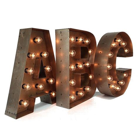 18 marquee letters custom steel marquee letter