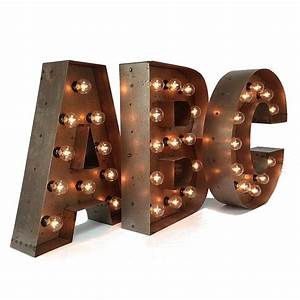 18 marquee letters custom steel marquee letter With custom light up letters