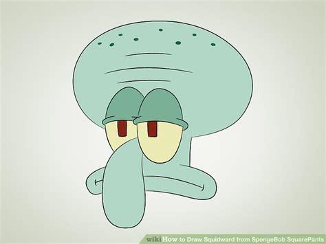 3 Ways To Draw Squidward From Spongebob Squarepants