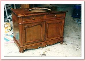 restaurer un vieux meuble bricobistro With transformer un meuble ancien