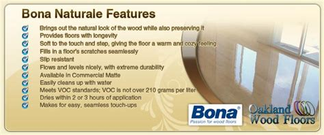 bona naturale water base hardwood floor finish oakland