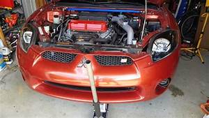 2006-2012 4g Mitsubishi Eclipse Oil Change 4g69 Gs
