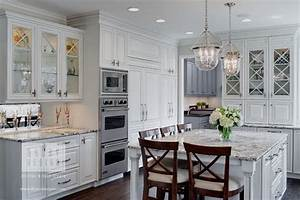 houzz features traditional white kitchen by drury design 2354