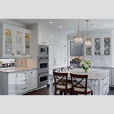 Houzz Features Traditional White Kitchen By Drury Design
