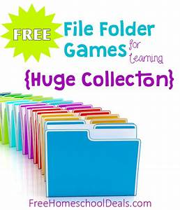 34 new homeschool freebies deals for 6 20 17 free With free file folder game templates
