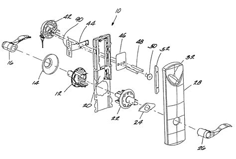 Schlage Door Lock Parts Diagram, Schlage, Free Engine