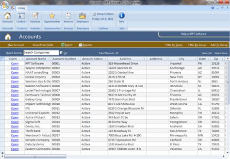 samples  microsoft access databases access examples