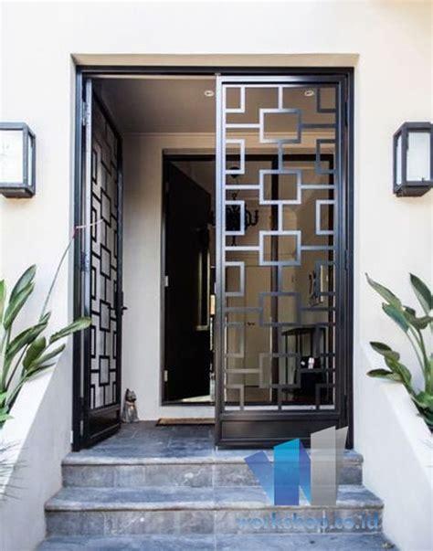 harga teralis pintu rumah terbaru  harga kanopi