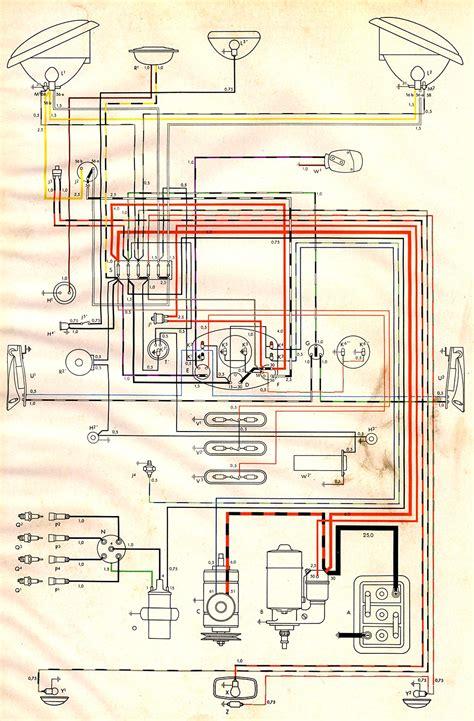 Wiring Diagram by 1954 Wiring Diagram Thegoldenbug