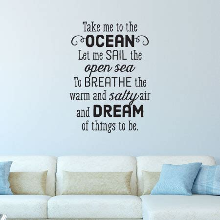 opening in a wall to let in air or light take me to the wall quotes decal wallquotes