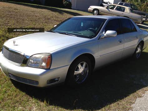 2000 Cadillac Deville 4 Door Sedan