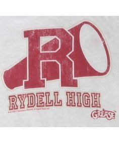 Rydell High School T-Shirt - Inspired by the movie Grease