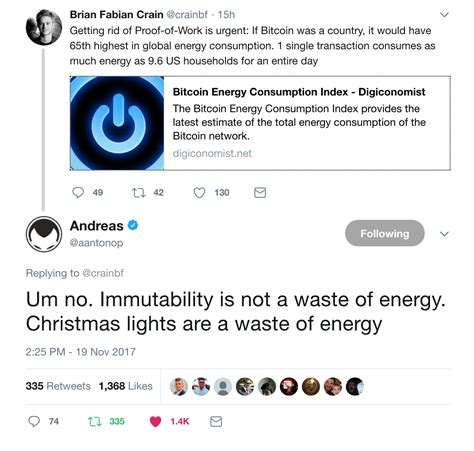 bitcoin energy consumption the bitcoin vs visa electricity consumption fallacy