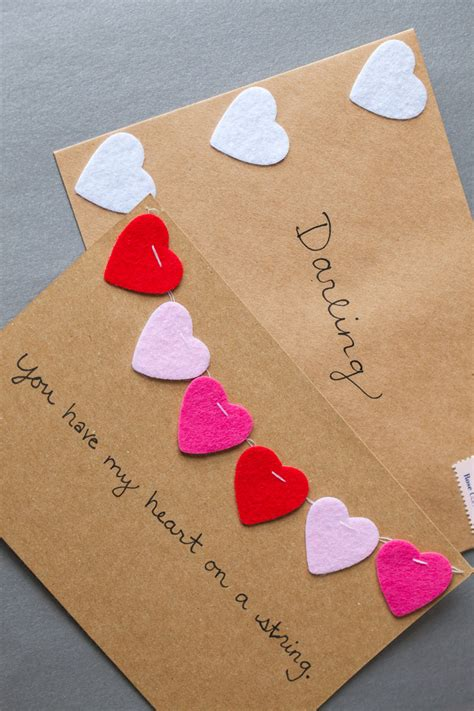 The best valentine's day cards you can find online right now. DIY // Valentine's Day Cards - The Effortless Chic