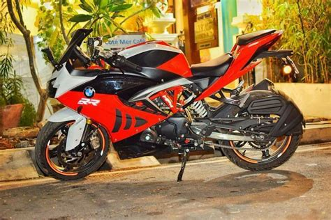 Tvs Apache Rr 310 With Bmw S 1000 Rr Livery