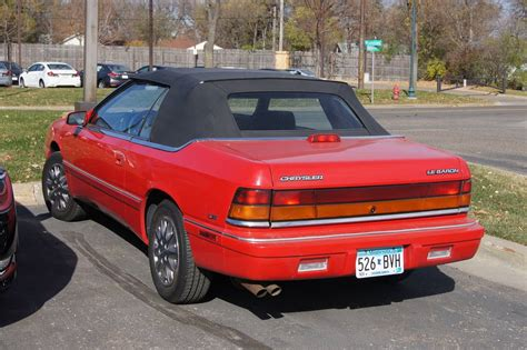 1995 Chrysler Lebaron Gtc Convertible by 1995 Chrysler Le Baron Gtc Convertible 3 0l V6 Auto