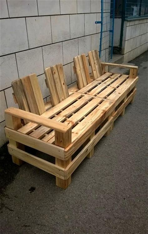 Pallett Bench by 10 Unique Pallet Benches New Designs 2018 Pallets Designs