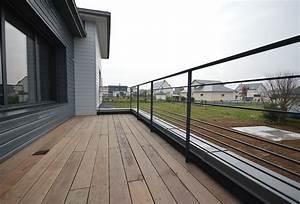 Garde De Corps Terrasse : garde corps terrasse acier ral ext rieur ~ Melissatoandfro.com Idées de Décoration