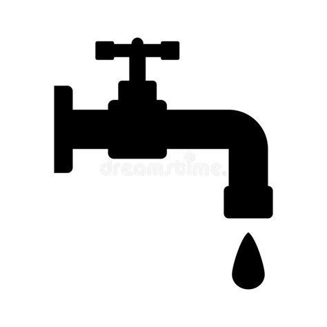 water tap icon stock vector image