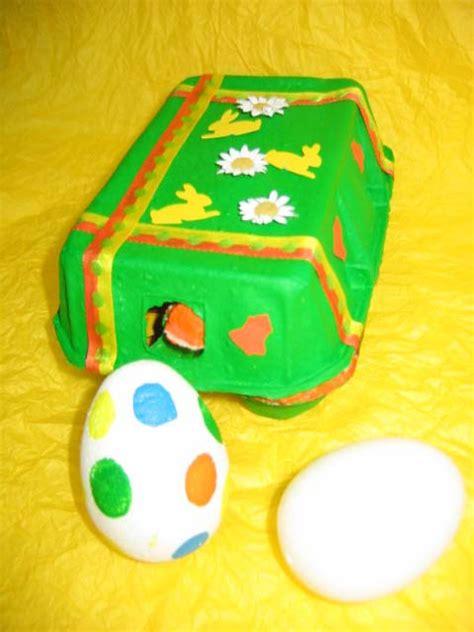 decoration paques avec boite a oeufs diy bo 238 te 224 œufs d 233 cor 233 e pour p 226 ques