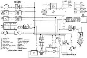 yamaha g14 engine diagram yamaha wiring diagrams