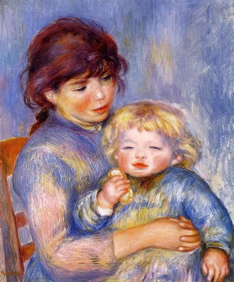 Pierre Auguste Renoir 1841 1919 French I Am A Child