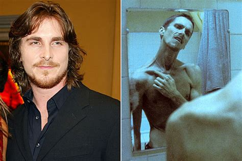 Christian Bale The Machinist Movie Transformations
