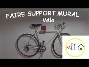 Support Velo Garage : faire un support mural v lo youtube ~ Melissatoandfro.com Idées de Décoration