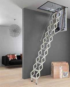 Escalier Escamotable Grenier : comment installer un escalier escamotable ~ Melissatoandfro.com Idées de Décoration
