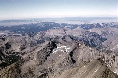 Mountains Crazy Montana Wikipedia Mountain Map Crow
