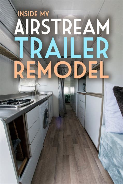 Inside My Airstream Trailer Remodel   Global Girl Travels