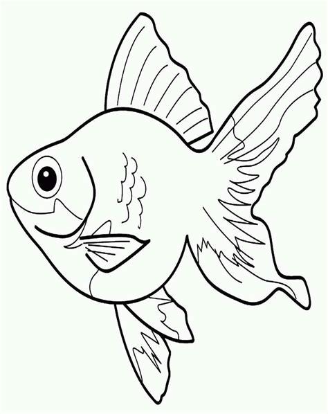 40 belajar mewarnai gambar ikan