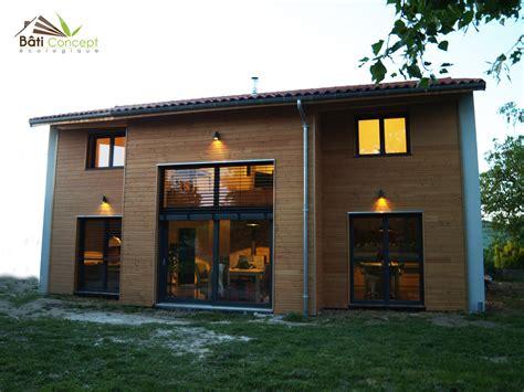 maison en bois auvergne constructeur maison bioclimatique clermont ferrand auvergne