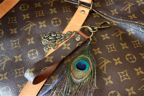 authentic louis vuitton monogram  canvas upcycled